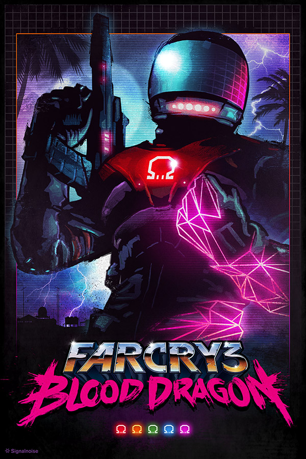 Far Cry 3: Blood Dragon - Omega Force