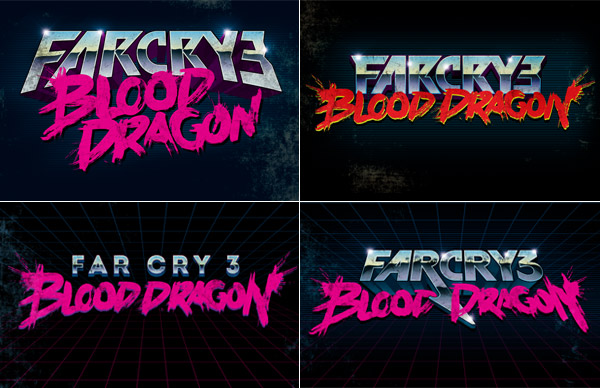 Far Cry 3: Blood Dragon logos