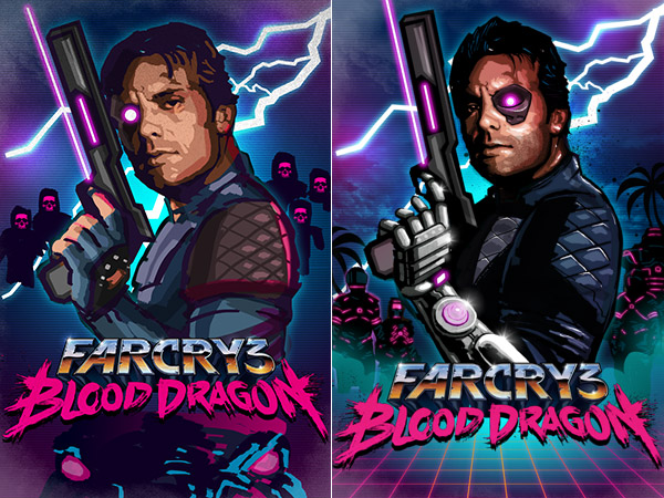 Blood Dragon poster