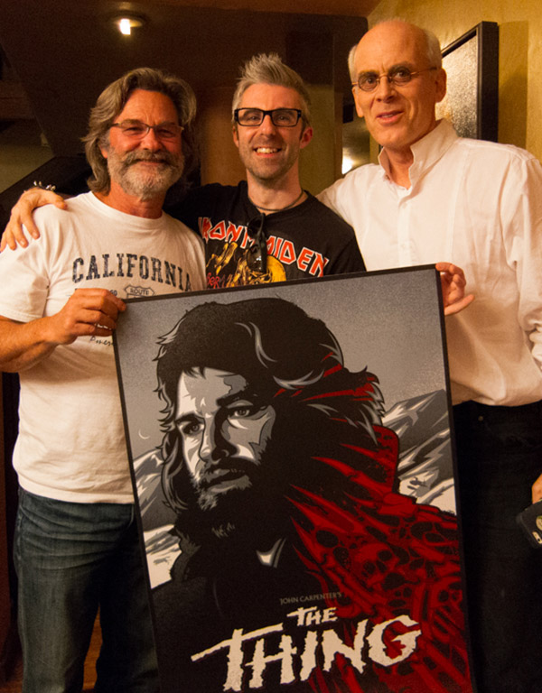 • Kurt, myself and Adobe Senior Creative Director Russell Brown!