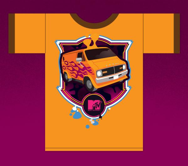 MTV tshirt by James White