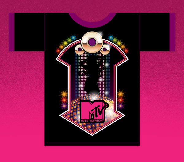 MTV shirt design by James White