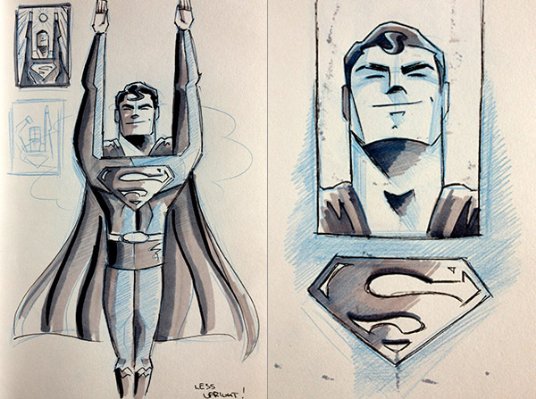 Superman by James White