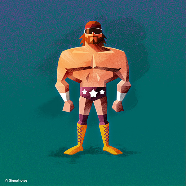 WWE illustration by James White