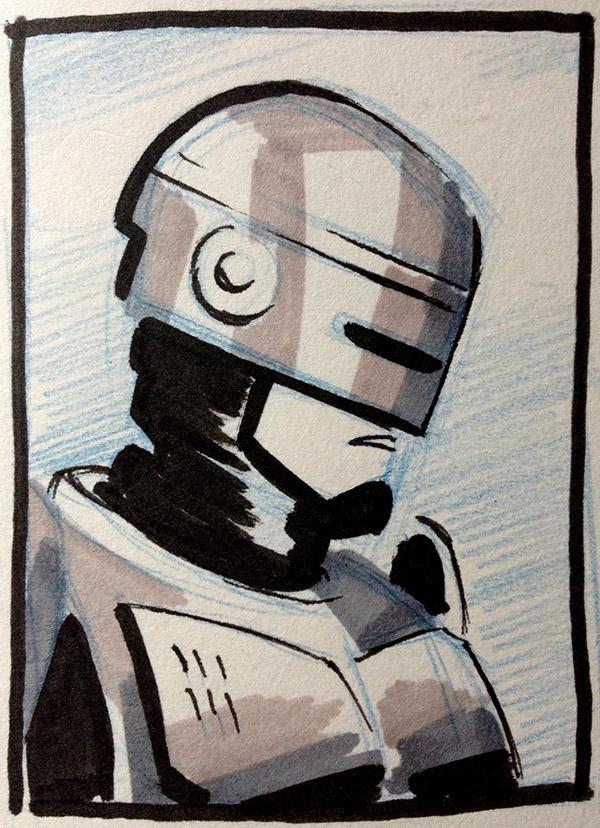 RoboCop sketch