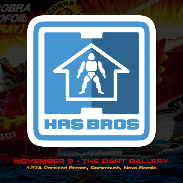 Has Bros art show