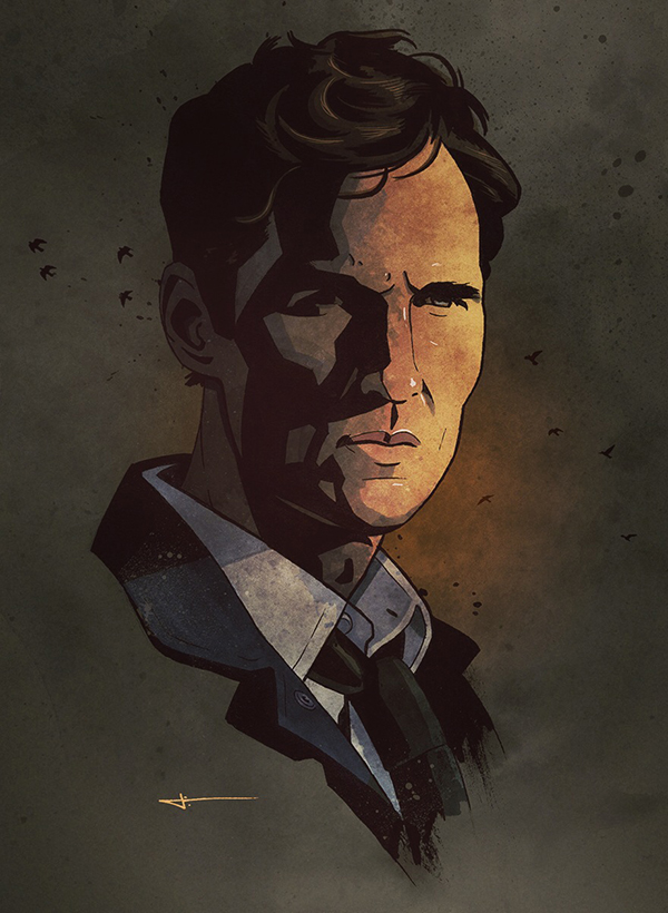 Rust Cohle by James White