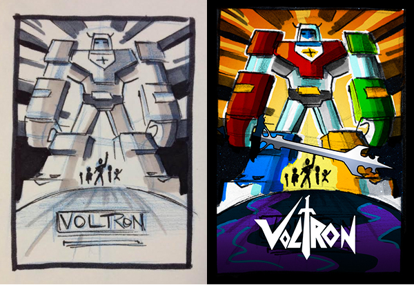 Voltron by James White