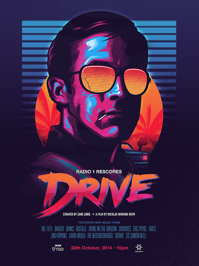DRIVE poster James White