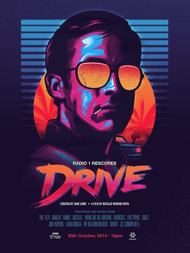 DRIVE poster James White